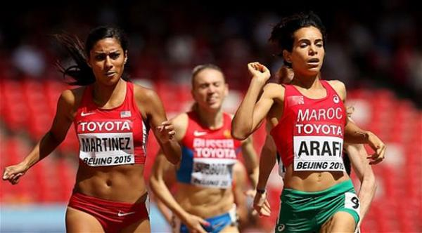 رباب العرافي تتأهل إلى نصف نهائي سباق 800 متر بأولمبياد طوكيو