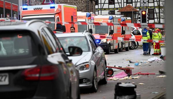 حادث الدهس بألمانيا ..ثلاثون جريحا وتوقيف شخص ثان