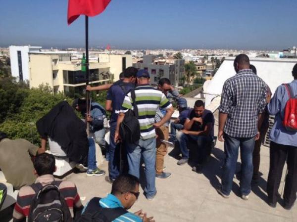"""وزارة """"الحقاوي"""" تعلن عن فتح تحقيق حول سقوط معطل مكفوف من أعلى مقر الوزارة و وفاته"""
