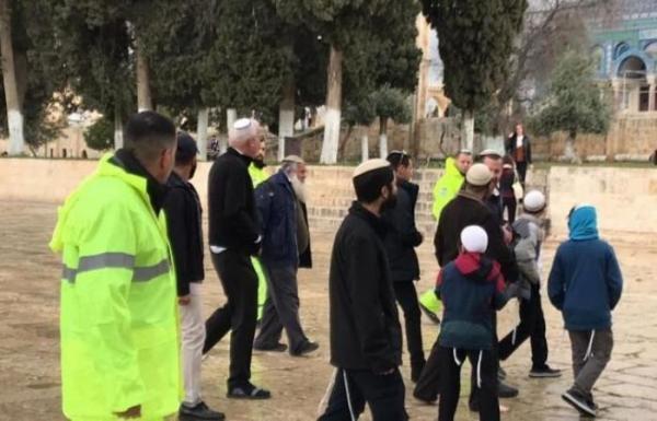 هل يتسبب في انتفاضة فلسطينية جديدة؟ ..وزير إسرائيلي يقود اقتحاما للمسجد الأقصى