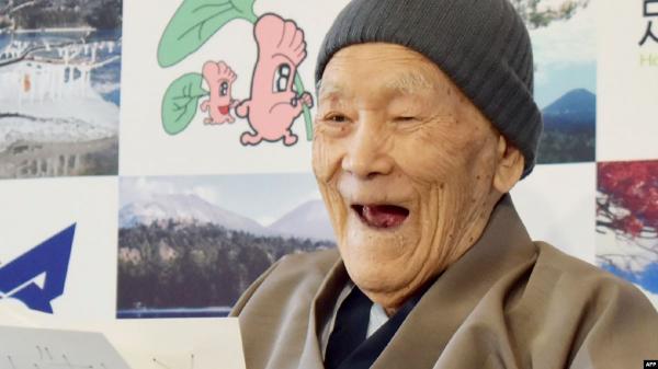 رحيل الياباني أكبر معمر في العالم عن عمر 112 عاما