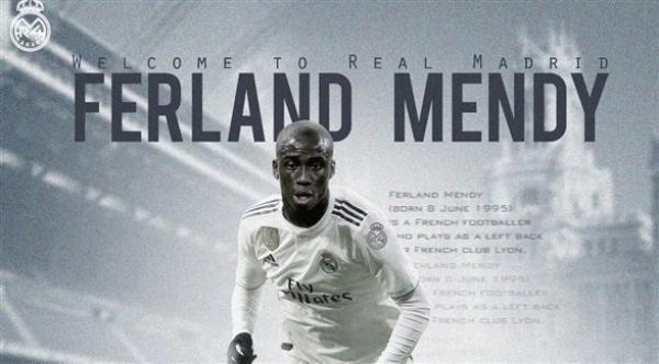 ريال مدريد يتعاقد رسميا مع الفرنسي فيرلاند ميندي
