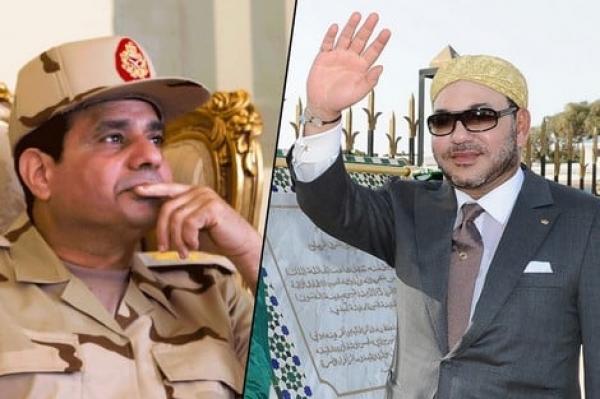 """رسالة من الملك """"محمد السادس"""" إلى الرئيس المصري """"عبد الفتاح السيسي"""""""