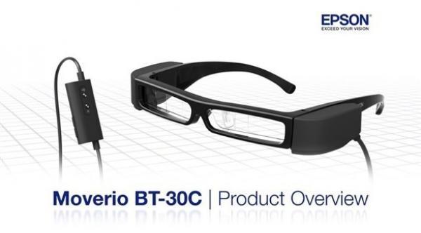 d7435c3f9 إبسون تعلن عن نظارة جديدة للواقع المعزز مع منفذ USB-C