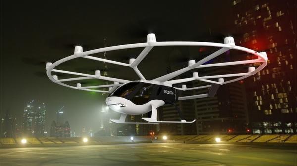 شركة ألمانية تكشف عن أول نموذج للتاكسي سيستخدم للنقل الجوي