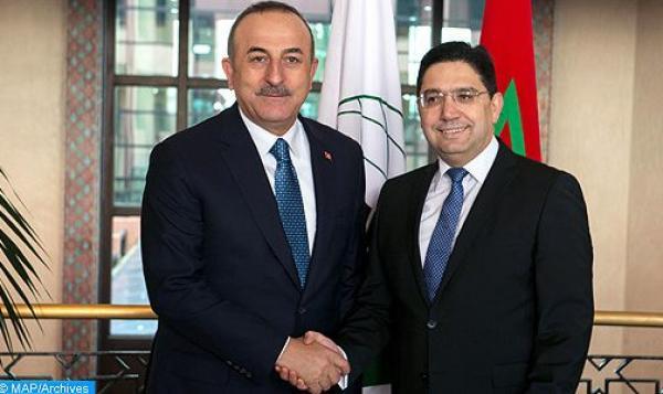اتصال هاتفي بين وزير الخارجية التركي وناصر بوريطة بشأن الملف الليبي وهذا فحواه