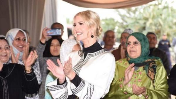 نجلة ترامب تُشيد بالمساواة بين الجنسين في المغرب