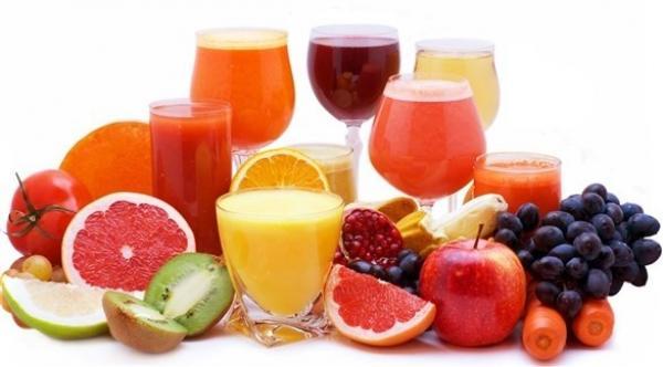 عصائر الفاكهة تحتوي على نسبة عالية من السكر