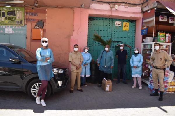 حملة طبية بالفنادق الشعبية بالمدينة العتيقة لمراكش (فيديو)