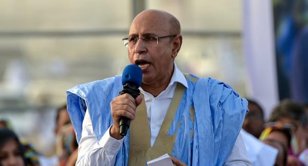"""رئيس موريتانيا يجدد اعترافه بــ""""الجمهورية الوهمية"""""""