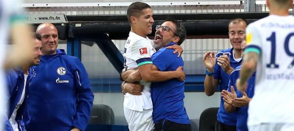 أمين حارث ينفجر بثنائية مع شالكه في الدوري الألماني (فيديو)
