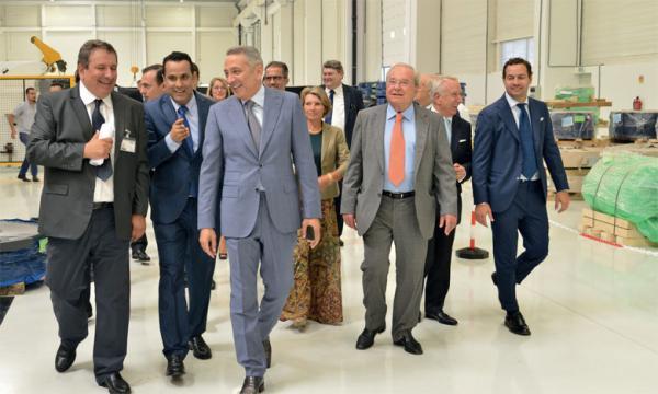 """حفيظ العلمي : """"بروما"""" للصناعة...أول مصنع يتم إنشاؤه في المغرب في ظرف ستة أشهر"""