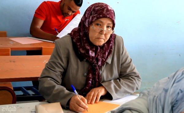بروفايل: الحاجة فطوم سبعينية تدخل سباق امتحانات الباكالوريا