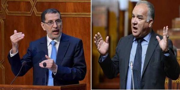 رئيس الحكومة ورئيس الفريق الاستقلالي بمجلس النواب
