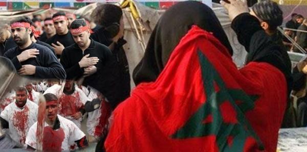 ملف:جغرافية التواجد الشيعي بالمغرب