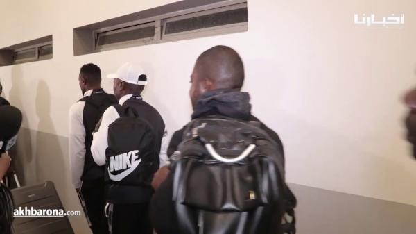 بعد الهزيمة أمام الرجاء..هكذا غادر لاعبو مازيمبي دونور
