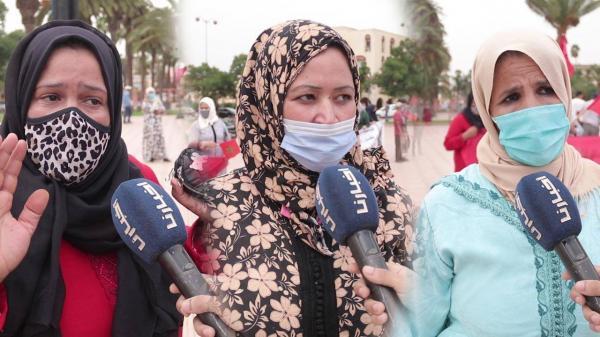 العاملون في قطاع الأعراس والحفلات بجهة الدار البيضاء سطات يخرجون للشارع من أجل الاحتجاج (فيديو)