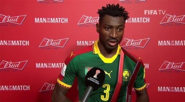 الكاميروني أنغويسا يسخر من شائعات انتقاله للريال