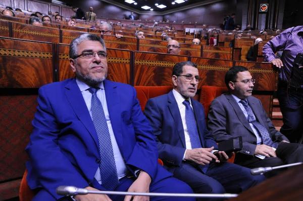 """""""قربالة"""" بمجلس النواب بسبب مشادات بين الرميد ورئيسة الجلسة...التفاصيل"""