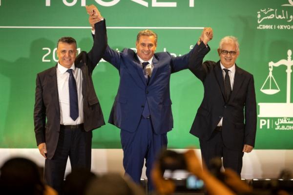 """هذا هو الوعد الجديد الذي أعطاه """"أخنوش"""" للمغاربة مباشرة بعد إعلانه عن حلفائه الحكوميين"""