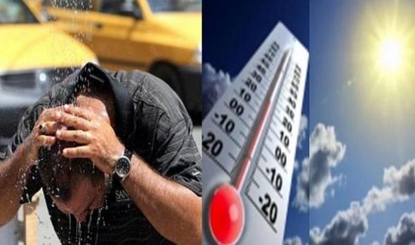 موجة حرارة ما بين 35 و48 درجة بعدد من مناطق المملكة من يوم غد السبت الى الثلاثاء