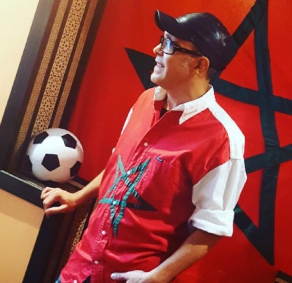 """بوشناق يطلق """" ألي ألي ماروك .. ويؤكد لـ """" أخبارنا """" : كنت متفائلا بتأهل المنتخب المغربي و الحمد لله """" مجهودنا مضاعش """""""