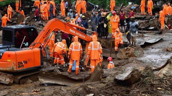 الهند.. مصرع 43 شخصا على الأقل إثر انهيارات أرضية جنوب غرب البلاد