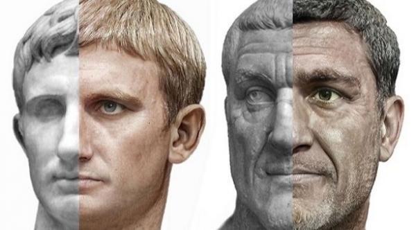 الذكاء الاصطناعي يساعد الفن على تحديد شكل الأباطرة الرومان في الواقع