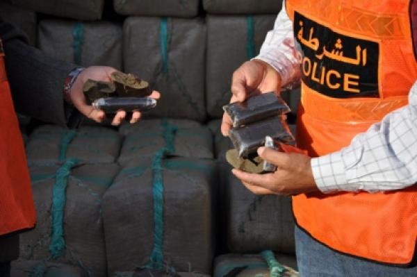 إحباط عملية للتهريب الدولي للمخدرات بالحسيمة