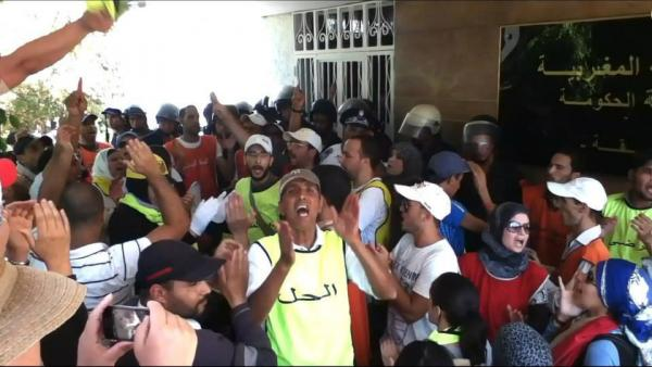 الرميد يفجر غضب معطلي المحضر بتصريح قد يؤثر على سير قضيتهم أمام العدالة
