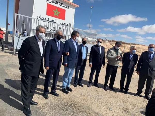 عاجل : زعماء الأحزاب المغربية يصدرون بيانا هاما من معبر الكركرات(صور)