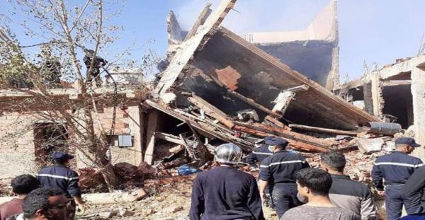ارتفاع حصيلة ضحايا حادث انفجار للغاز بالجزائر إلى 6 قتلى
