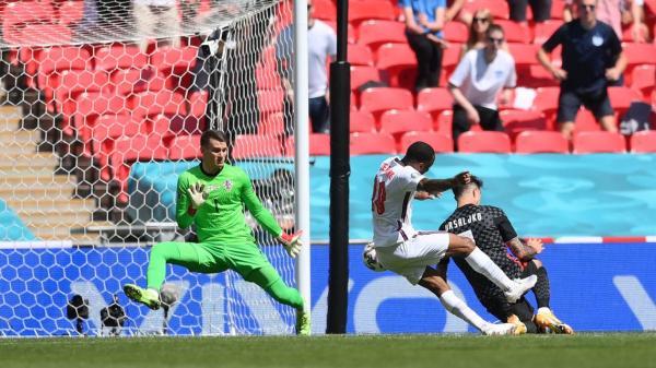 سترلينغ يمنح الفوز لانجلترا على كرواتيا في يورو 2020