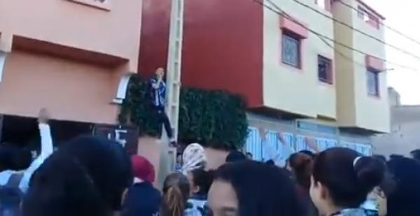 بالفيديو: أول احتجاج بالمغرب ضد الساعة ينطلق بأعالي الجبال والتلاميذ يقاطعون الدراسة ويطالبون برحيل العثماني