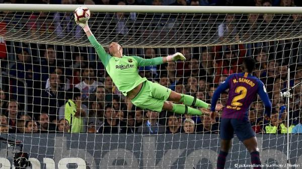 شتيغن يغيب عن نهائي كأس ملك إسبانيا