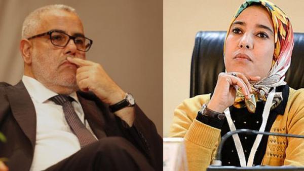 برلمانية بيجيدية تهاجم ماء العينين وتتهمها بالإختباء وراء بنكيران