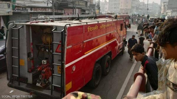 حريق مصنع في الهند يتسبب في وفاة 43 شخصا