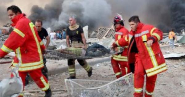 إصابة مواطنة مغربية في الانفجار الذي هز مرفأ بيروت