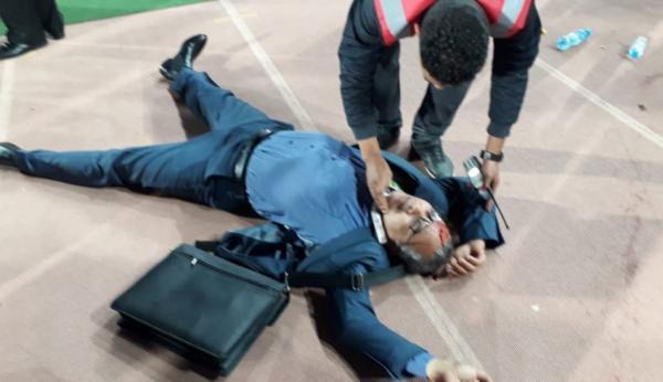 الحالة الصحية لمسؤول حسنية أكادير ضحية غضب جماهير الفريق
