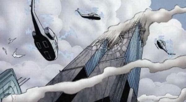 قصص سوبرمان المصورة توقعت أحداث 11 سبتمبر