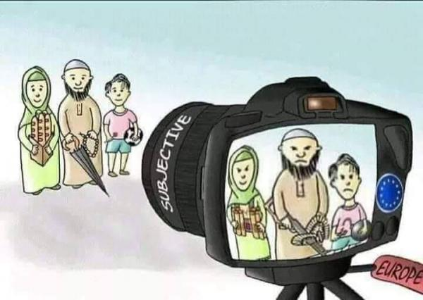الإعلام الغربي والمسلمين