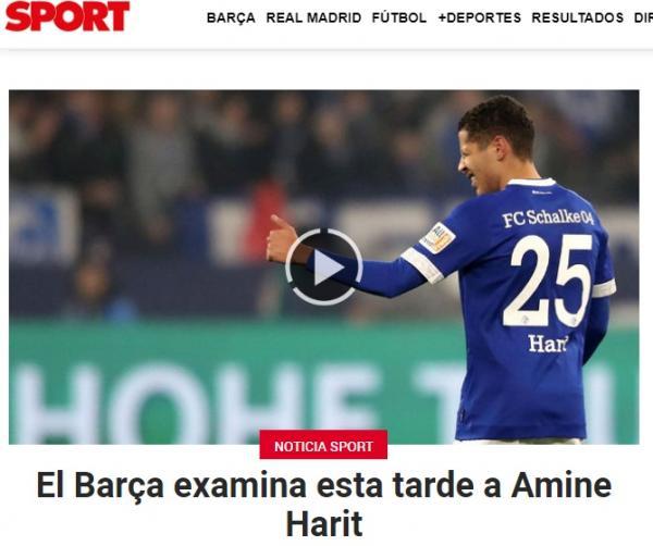 """بعد تألقه الملفت...مسؤولو برشلونة الإسباني يحلون بألمانيا لمتابعة """"حاريث"""" على المباشر"""