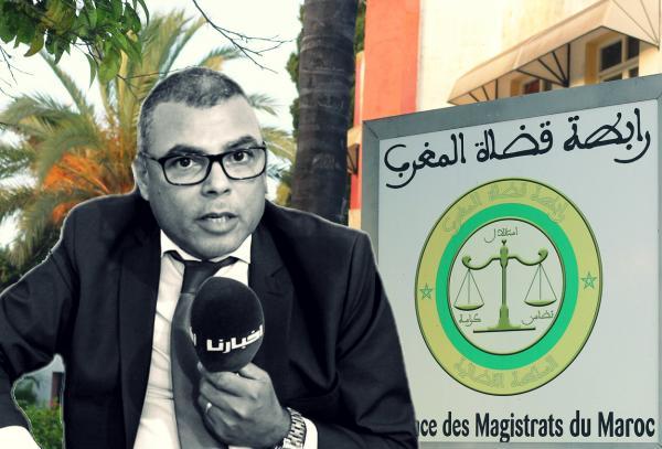 """""""رابطة قضاة المغرب"""" تستضيف """"أخبارنا"""" بشكل رسمي والأخيرة تحاور مسؤولا بارزا فيها (فيديو)"""