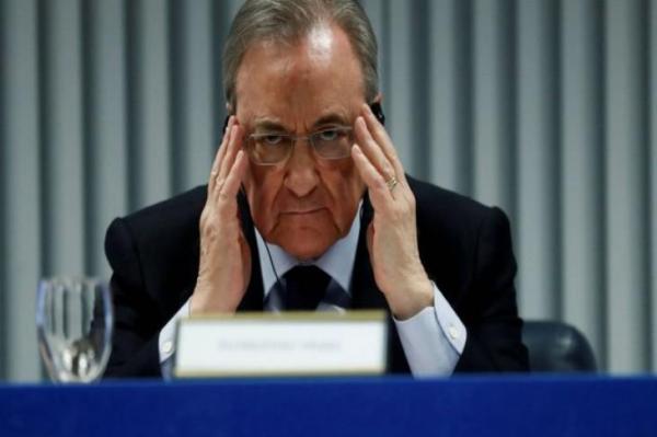 """فلورنتينو بيريس يؤكد أن مشروع الدوري السوبر """"مجمد ولم يفشل """""""