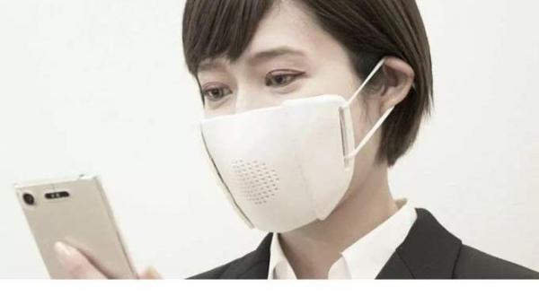 اليابان تبتكر كمامة ذكية تتصل بالإنترنت