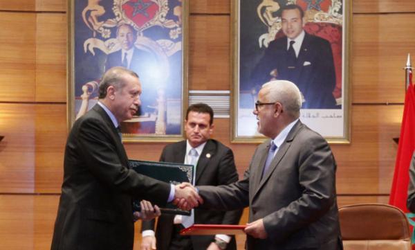"""المغرب يستعد لـ """"إلغاء"""" إتفاقية """" التبادل الحر"""" مع تركيا بسبب إلحاقها  أضرارا كبيرة بالاقتصاد المغربي"""
