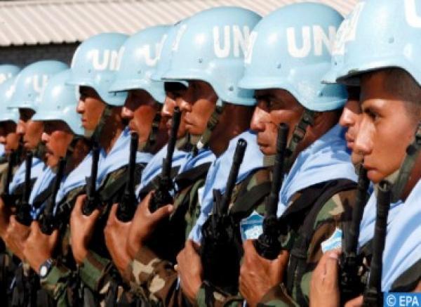 """منح ميدالية """"داغ همرشولد"""" لجندي مغربي قضى خلال عمليات حفظ السلام"""