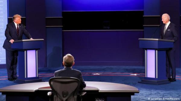 في أول مناظرة رئاسية، اشتباك، إهانات شخصية وصراخ بين ترامب وبايدن