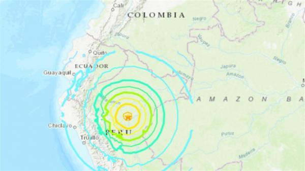 بالفيديو: زلزال مدمر يضرب أربع دول لاتينية