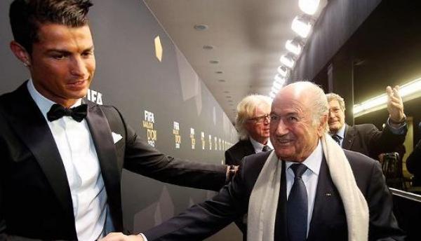 رسميا..بلاتر يعتذر لرونالدو ولجماهير ريال مدريد